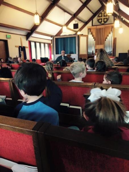 chapel singing