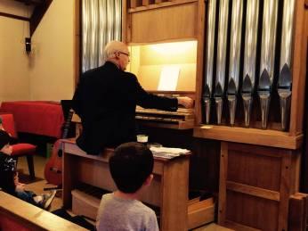 Learningaboutpipe organ