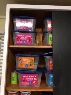 Theme bins